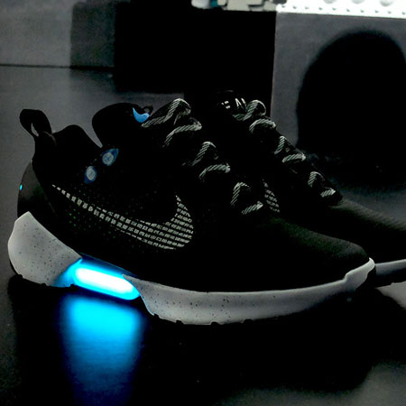 Nike HyperAdapt 1.0: the Future Self-Lacing Shoe